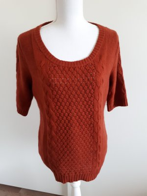 H&M Sweater cognac-coloured