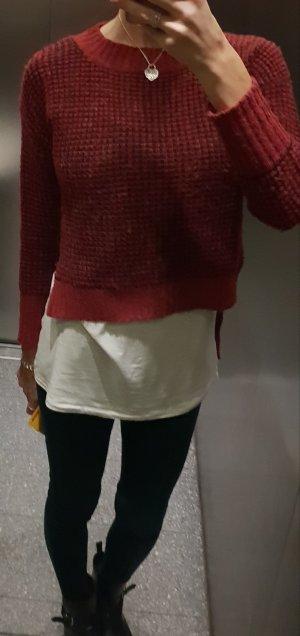 Pullover Strickpullover sweater vokuhila