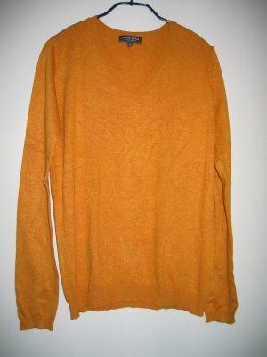 Pullover Strickpullover V-Ausschnitt Gr. 38 gelb MARIE LUND