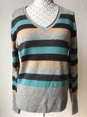 Pullover Stripes Cashmere Gr 38