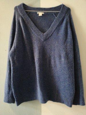 H&M Jersey de lana azul