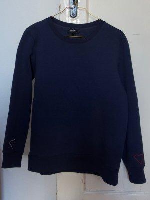 A.P.C. Sweatshirt blauw