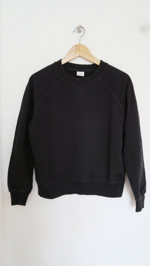Pullover Sweater  dunkelgrau anthrazit oversized Gr S