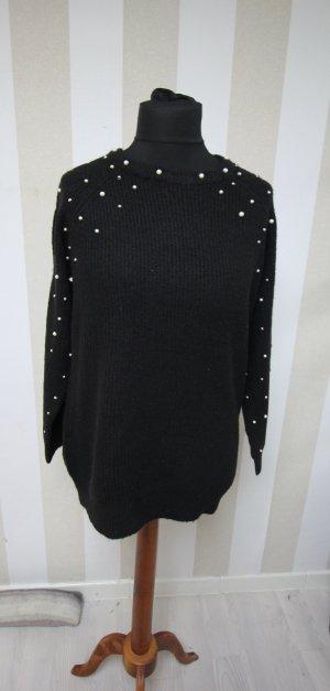 Pullover Sweater mit Perlen