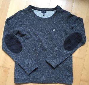 Pullover Sweatshirt Armani Jeans mit Glitzer und Seide