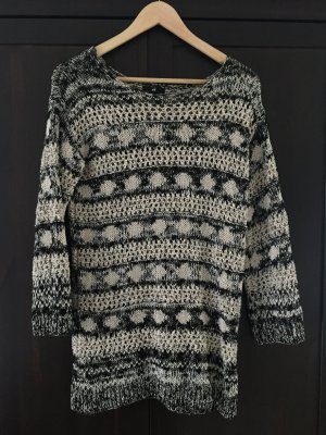 Pullover Sweatshirt H&M Oversize cozy Lurex 34 xs