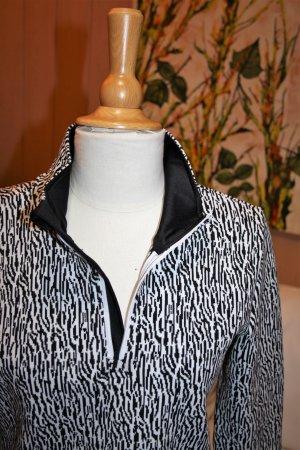 Crivit Long Sweater white-black mixture fibre
