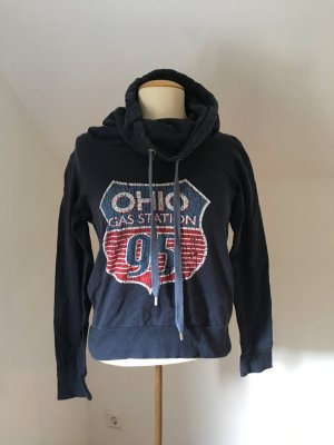 Pullover Sweatshirt mit Print von Only