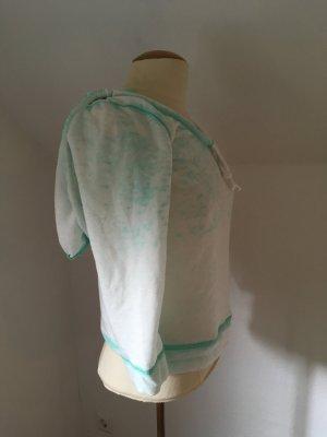 Pullover, Sweatshirt von TomTailor Denim mit Kapuze im Batik Look