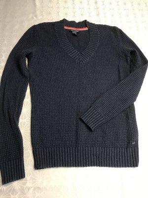 Tommy Hilfiger V-Neck Sweater dark blue