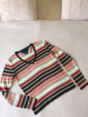 Pullover Tommy Hilfiger_Gr.M_Streifen_100% Baumwolle_neuwertig