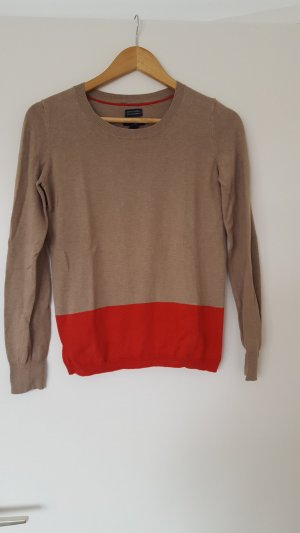 Tommy Hilfiger Pullover in cashmere color cammello-rosso