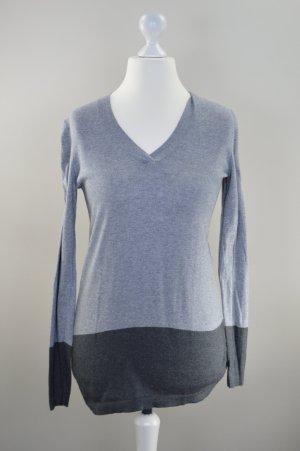 Pullover Tommy Hilfiger Größe S zweifarbig grau dunkelgrau