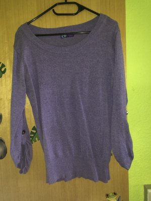 Crewneck Sweater grey violet