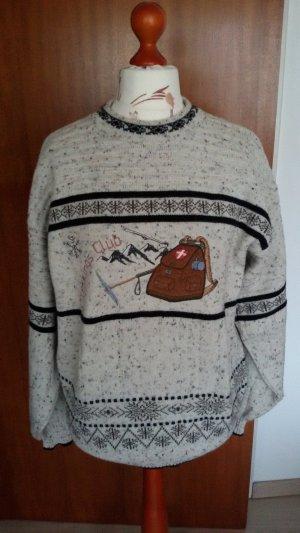 Norwegian Sweater natural white mixture fibre