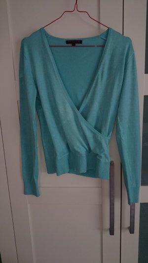 Pullover türkis hellblau von Review in Gr. S