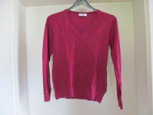 Pullover V-Ausschnitt Gr. 36/38 pink