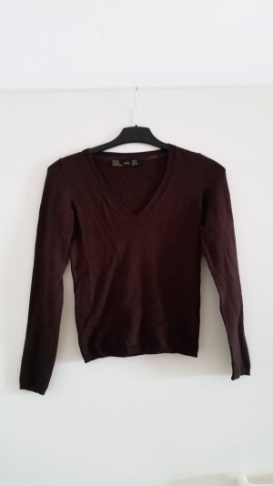 Pullover V Ausschnitt Gr. S