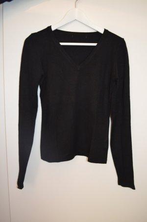 Pullover V-Ausschnitt * Schwarz * Größe 36