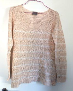 Pullover, Vero Moda, Größe S/36, rosa/weiß
