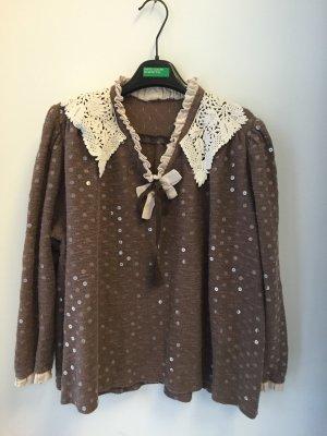 Pullover Vintage Boho Maßgeschneidert Größe 42