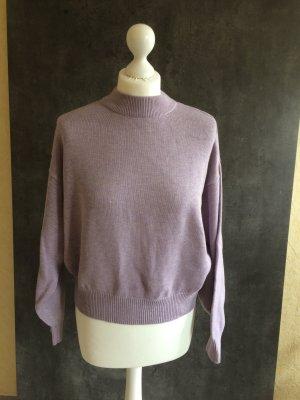 H&M Maglione lavorato a maglia malva