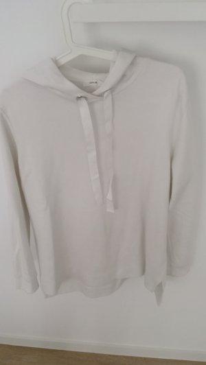 Oppose Jersey con capucha blanco Algodón