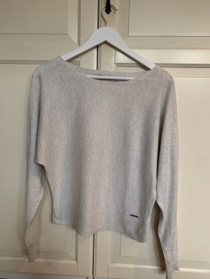 Abercrombie & Fitch Knitted Sweater natural white