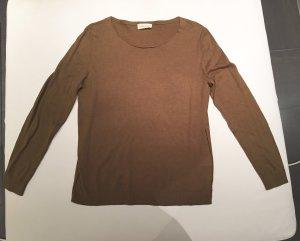 American Vintage Kraagloze sweater olijfgroen