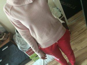 Pullover von Amisu kuschelig Winter rosa Größe S/36 new yorker Fleece
