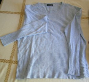 Apanage Kraagloze sweater grijs