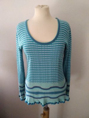 Ashley Brooke Sweater lichtblauw-blauw