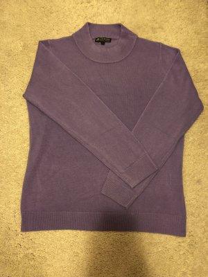 Authentic Jersey de cuello alto lila grisáceo