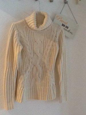 Pullover von CASTRO in Creme und Gr. 1 (S)
