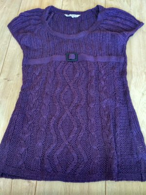 Clockhouse Coarse Knitted Sweater lilac