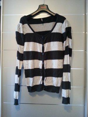 Pullover von Colors of the Worls, Größe L / 40, grau, schwarz