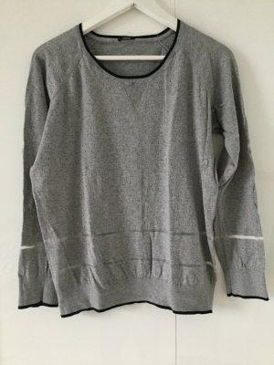 Pullover von Denham mit transparenten Streifen
