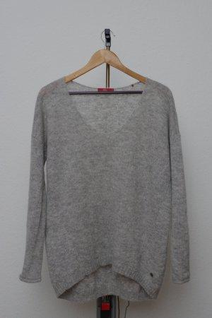 edc by Esprit Maglione oversize grigio chiaro-grigio Lana d'alpaca