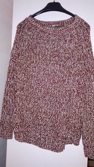 Esprit Sweater wit-rood