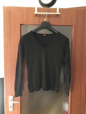 Esprit V-Neck Sweater black