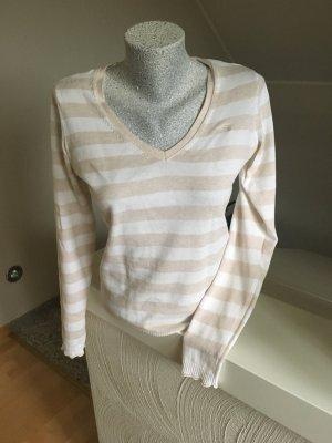 Pullover von Esprit, Größe S, Creme-beige gestreift, wie neu