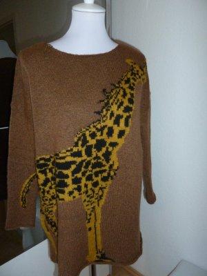 Pullover von Esprit mit Animal Strick