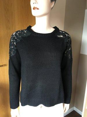 Pullover von even&odd in Größe L mit Spitze