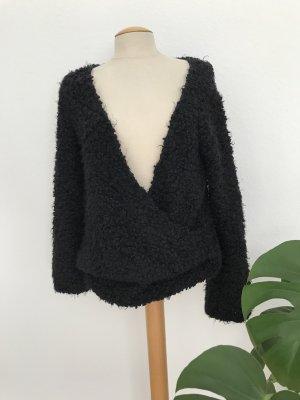 Free People Wool Sweater black polyamide