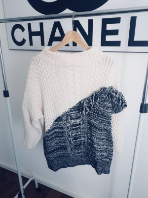 French Connection Cardigan en maille fine multicolore laine