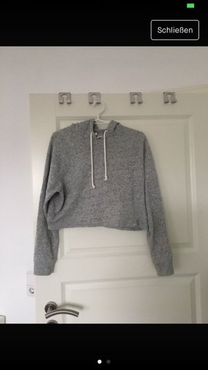 H&M Hooded Sweater slate-gray