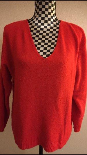 H&M V-halstrui rood