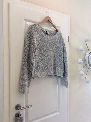 Pullover von H&M grau