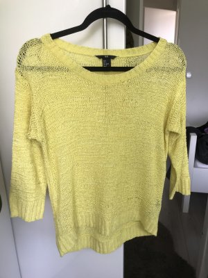 Pullover von H&M in gelb