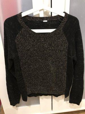 Pullover von H&M in schwarz/Gold